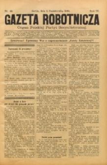 Gazeta Robotnicza, 1894, R. 4, nr 40