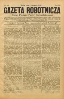 Gazeta Robotnicza, 1894, R. 4, nr 44