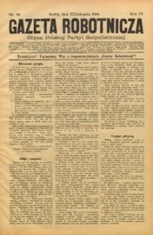 Gazeta Robotnicza, 1894, R. 4, nr 46