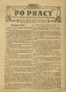 Po Pracy, 1923, R. 8, nr 14