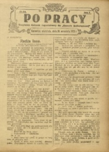 Po Pracy, 1923, R. 8, nr 24
