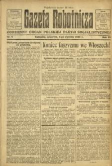 Gazeta Robotnicza, 1923, R. 28, nr 2