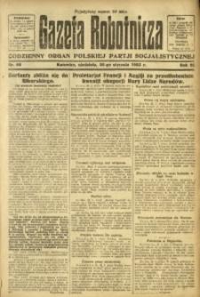 Gazeta Robotnicza, 1923, R. 28, nr 22