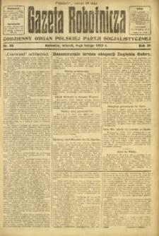 Gazeta Robotnicza, 1923, R. 28, nr 28