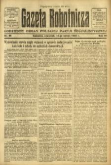 Gazeta Robotnicza, 1923, R. 28, nr 36