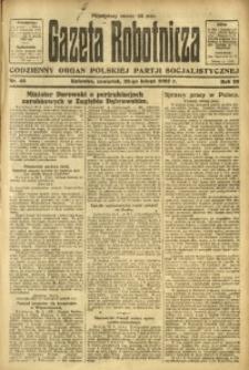 Gazeta Robotnicza, 1923, R. 28, nr 42
