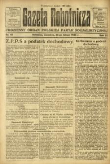 Gazeta Robotnicza, 1923, R. 28, nr 45