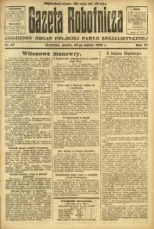 Gazeta Robotnicza, 1923, R. 28, nr 67