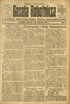 Gazeta Robotnicza, 1923, R. 28, nr 76