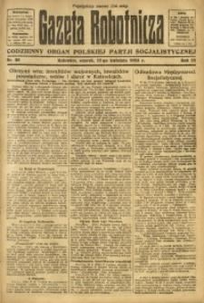 Gazeta Robotnicza, 1923, R. 28, nr 85