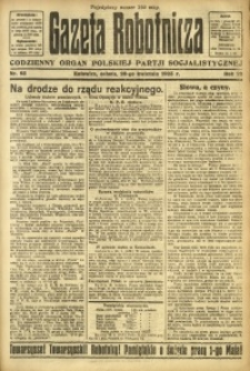Gazeta Robotnicza, 1923, R. 28, nr 95