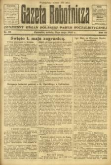 Gazeta Robotnicza, 1923, R. 28, nr 99