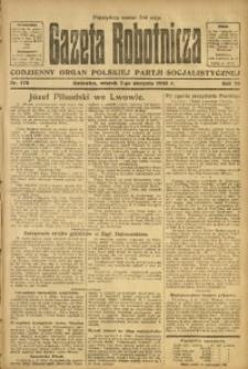 Gazeta Robotnicza, 1923, R. 28, nr 175
