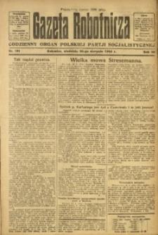 Gazeta Robotnicza, 1923, R. 28, nr 191
