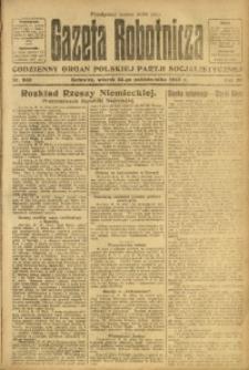 Gazeta Robotnicza, 1923, R. 28, nr 240