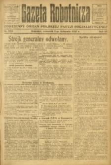 Gazeta Robotnicza, 1923, R. 28, nr 253