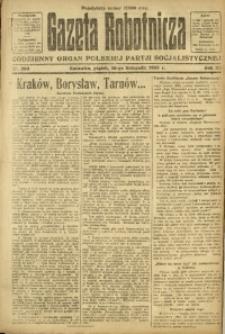 Gazeta Robotnicza, 1923, R. 28, nr 260