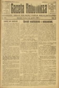 Gazeta Robotnicza, 1923, R. 28, nr 276