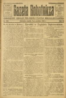 Gazeta Robotnicza, 1923, R. 28, nr 278
