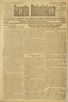 Gazeta Robotnicza, 1923, R. 28, nr 281
