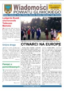 Wiadomości Powiatu Gliwickiego, 2007, nr 8
