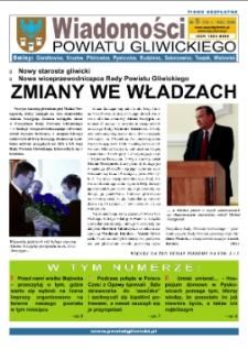 Wiadomości Powiatu Gliwickiego, 2008, nr 5(14)