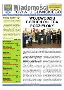 Wiadomości Powiatu Gliwickiego, 2008, nr 10(19)