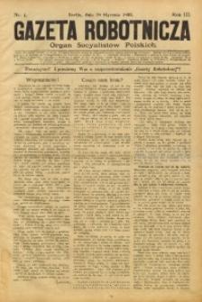 Gazeta Robotnicza, 1893, R. 3, nr 4