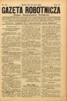 Gazeta Robotnicza, 1893, R. 3, nr 30