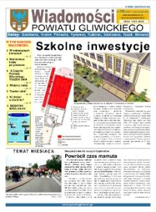 Wiadomości Powiatu Gliwickiego, 2009, nr 7/8(28-29)