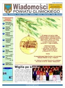 Wiadomości Powiatu Gliwickiego, 2009, nr 12(33)