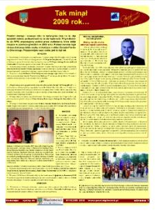 Wiadomości Powiatu Gliwickiego, 2010, nr 1(34) Wkładka