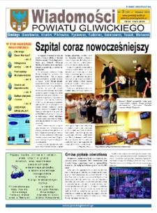 Wiadomości Powiatu Gliwickiego, 2010, nr 3(36)