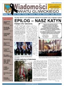 Wiadomości Powiatu Gliwickiego, 2010, nr 4(37)
