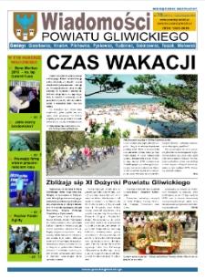 Wiadomości Powiatu Gliwickiego, 2010, nr 7/8(40-41)