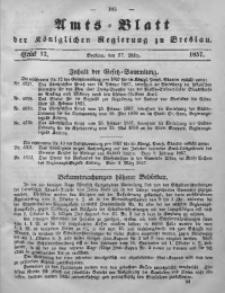 Amts-Blatt der Königlichen Regierung zu Breslau, 1857, Bd. 48, St. 13