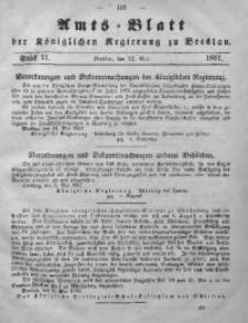 Amts-Blatt der Königlichen Regierung zu Breslau, 1857, Bd. 48, St. 21