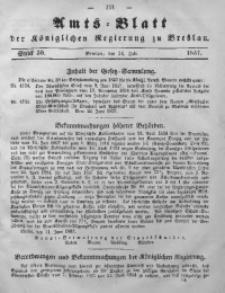 Amts-Blatt der Königlichen Regierung zu Breslau, 1857, Bd. 48, St. 30