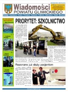 Wiadomości Powiatu Gliwickiego, 2010, nr 10(43)