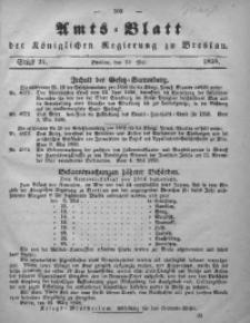 Amts-Blatt der Königlichen Regierung zu Breslau, 1858, Bd. 49, St. 21