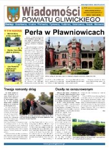 Wiadomości Powiatu Gliwickiego, 2011, nr 11(56)