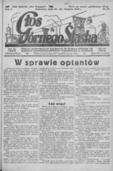 Głos Górnego Śląska, 1925, R. 5, nr 52