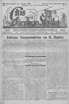 Głos Górnego Śląska, 1926, R. 6, nr 15