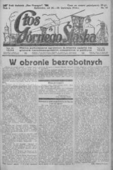 Głos Górnego Śląska, 1926, R. 6, nr 18