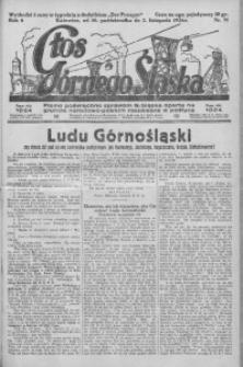 Głos Górnego Śląska, 1926, R. 6, nr 71