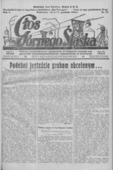Głos Górnego Śląska, 1926, R. 6, nr 81