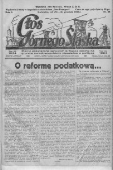 Głos Górnego Śląska, 1926, R. 6, nr 88