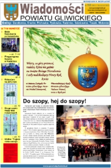 Wiadomości Powiatu Gliwickiego, 2012, nr 12(69)