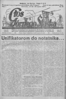 Głos Górnego Śląska, 1927, R. 7, nr 25