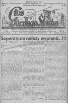 Głos Górnego Śląska, 1927, R. 7, nr 36
